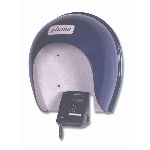 Telephone Hood  Slimline 790x740x360 mm  Blue