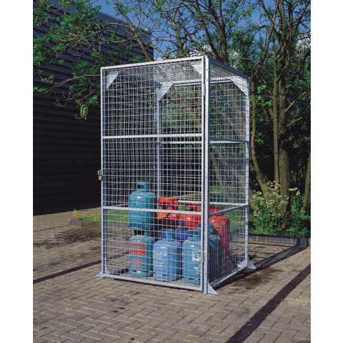 Maxi Box No.3 Wire Storage -Galvanised 2.28x2.25x3.6 Metres