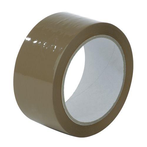 Tape  Polypropylene Brown Roll W:48mm 36 Rolls Carton