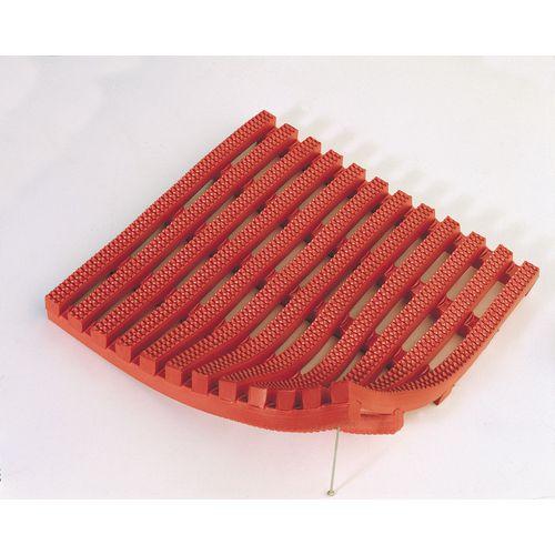 Matting H.D. Pvc (Vynagrip) Square Pvc (91Cms) Red