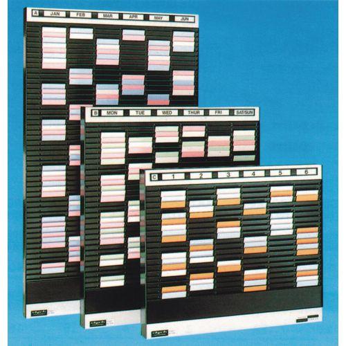 Card Rack HxW 724x508mm Card Size:A6 124 Pockets