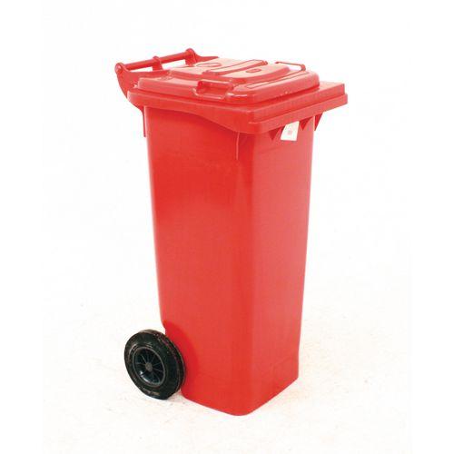 Wheelie Bin 80L 2-Wheel Red 331270