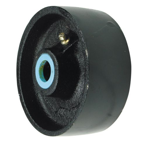 Wheel Cast Iron 75mm Dia Plain Bearing