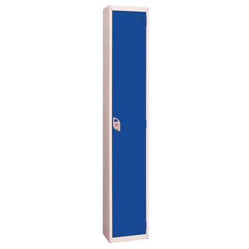 Wet Area Locker 1 Compartment W300xD450 Blue Door