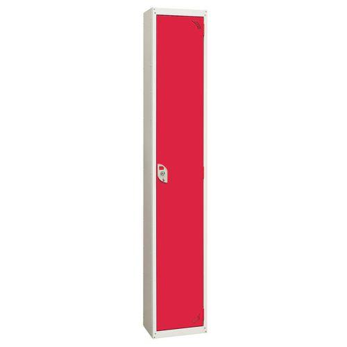Wet Area Locker 1 Compartment W300xD450 Red Door