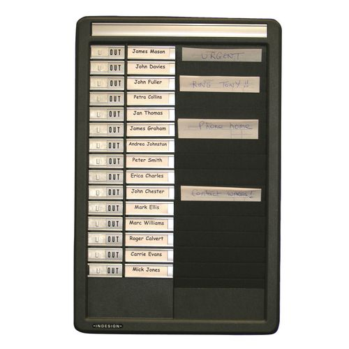 Board Message Centres Std. 15 Name 325X490X35