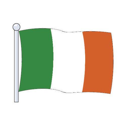 Flag Eire Medium 229x114