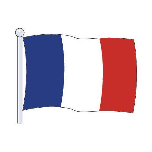 Flag France Medium 229x114