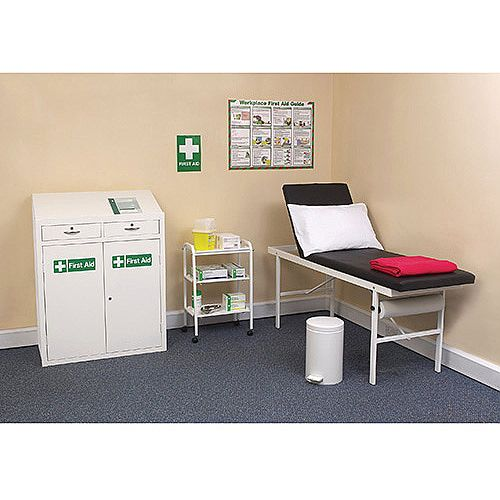 Medical Economy First Aid Room Furniture Bundle Set