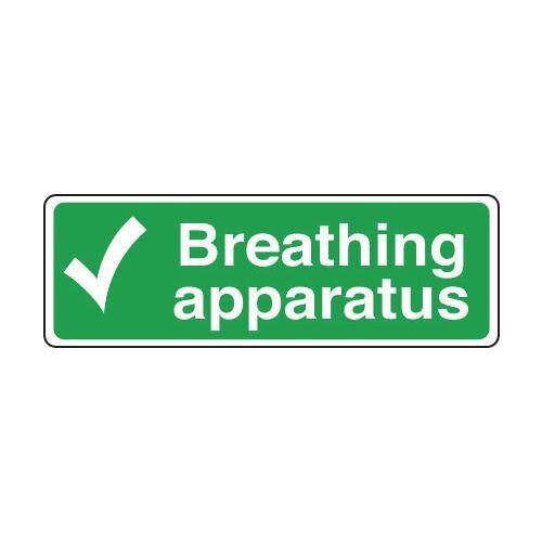 Sign Breathing Apparatus 300x100 Vinyl