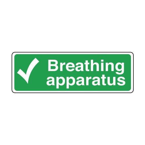 Sign Breathing Apparatus 600x200 Vinyl