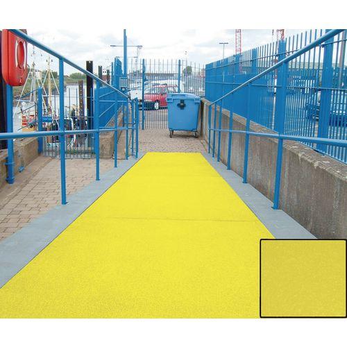 Slipgrip Flat Sheet Yellow 1200mmx1200mm