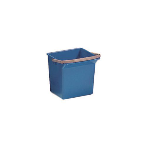 Blue Plastic Cleaning Trolley Bucket 4L