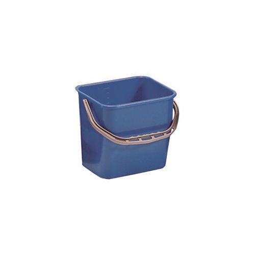 Blue Plastic Cleaning Trolley Bucket 6L