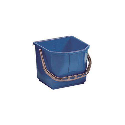 Blue Plastic Cleaning Trolley Bucket 15L