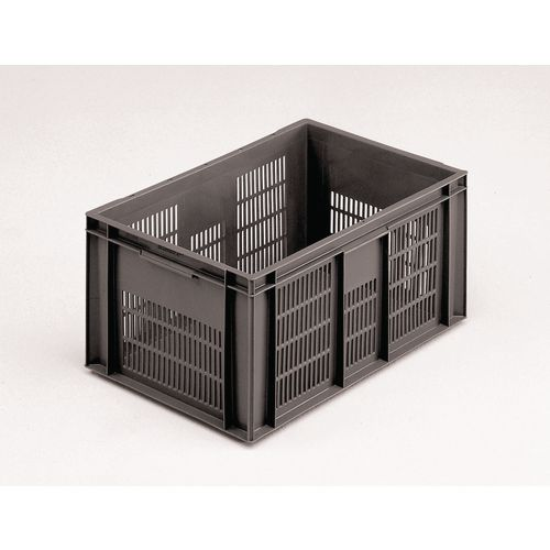 75 L Euro Stacking Container Grey