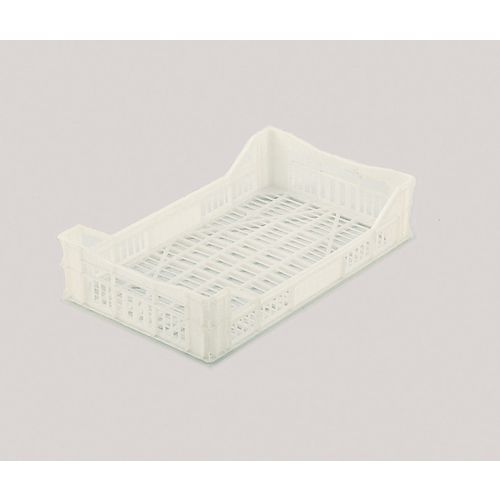 43 L Stacking Tray White