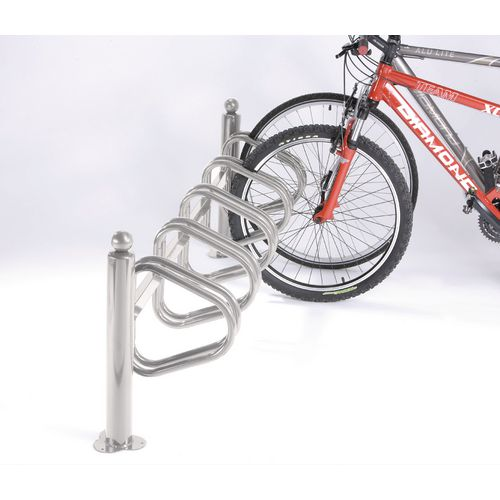 New York Cycle Rack 5 Bikes Galvanised