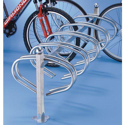 New York Cycle Rack 10 Bikes Galvanised