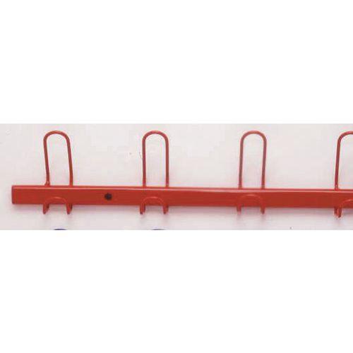 Coat Rack Red