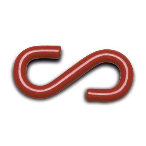 S Hook Steel Red