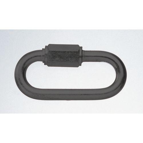 Screwed Connector Steel Black