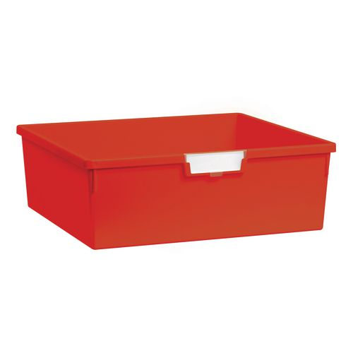 Plastic Storage Tray 469X425X157 Red Pack Of 6