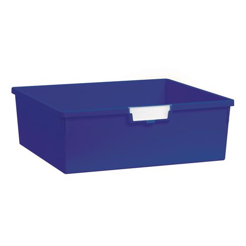 Plastic Storage Tray 469X425X157 Blue Pack Of 6