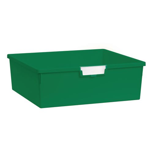 Plastic Storage Tray 469X425X157 Green Pack Of 6