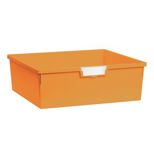 Plastic Storage Tray 469X425X157 Yellow Pack Of 6