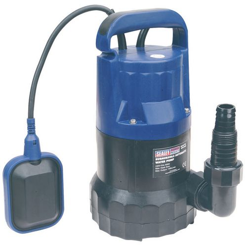 Submersible Water Pump Automatic 100Ltr/Min 230V