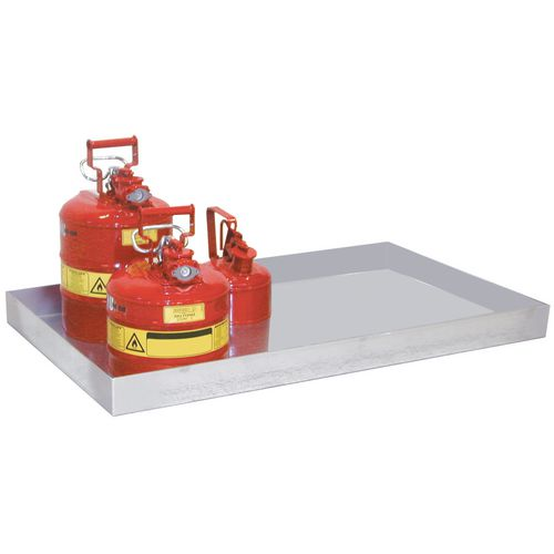 Small Can Tray Type Kgw 1390X600X60 40L Capacity