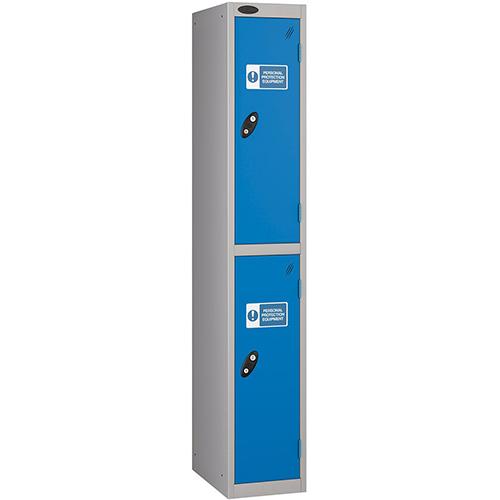 Ppe Locker 2 Compartment 305 x 305