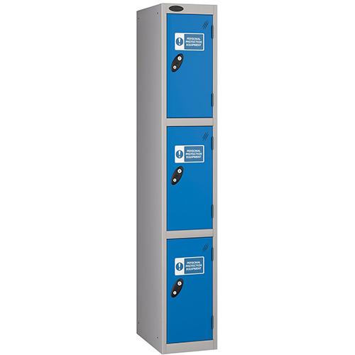 PPE Locker 3 Compartment 305 X 305