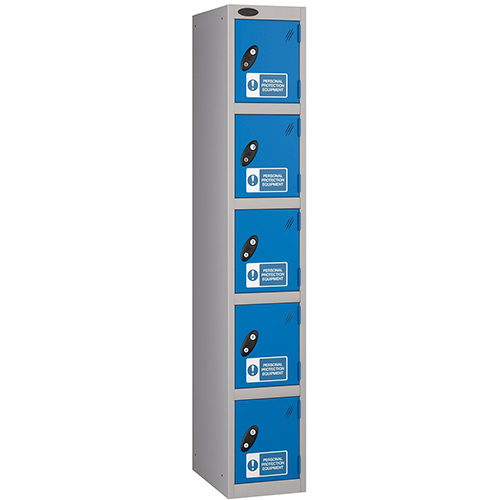 PPE Lockers 5 Compartment 305x460mm