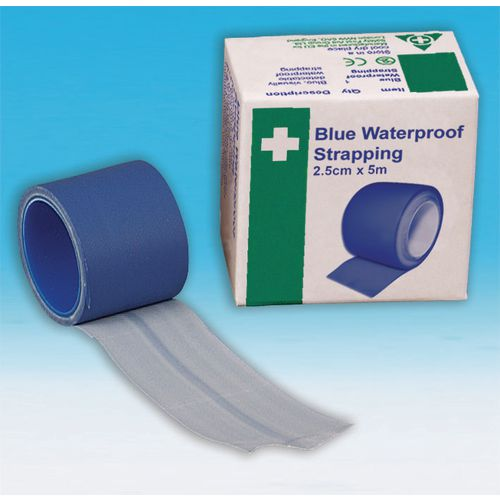 Blue Waterproof Strapping 2.5Cmx5M