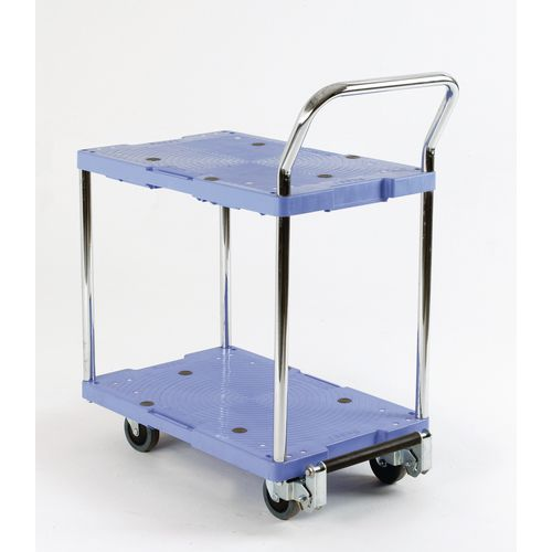 Plastic Shelf Trolley 715x460