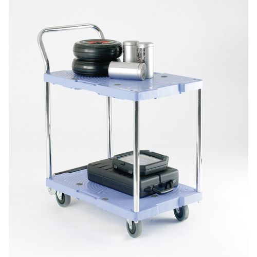 Plastic Shelf Trolley 900x600