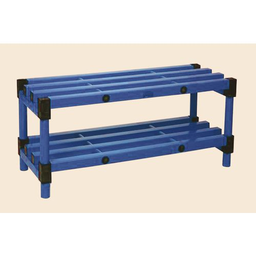 Bench Single Blue 1200mm Length
