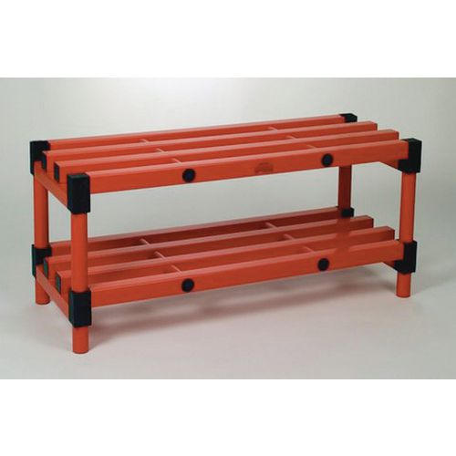 Bench Double Red 1200mm Length