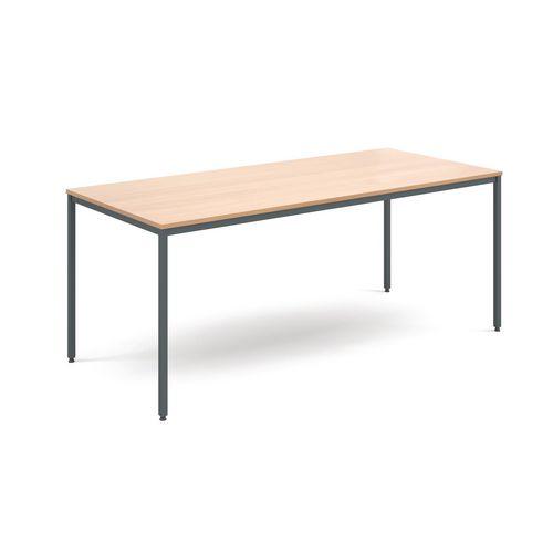 Table  General Purpose Beech Rectangular Beech1800X800X725mm