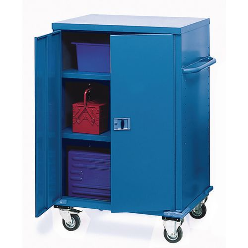 Cabinet Mobile Storage Blue 1200x1200x600mm