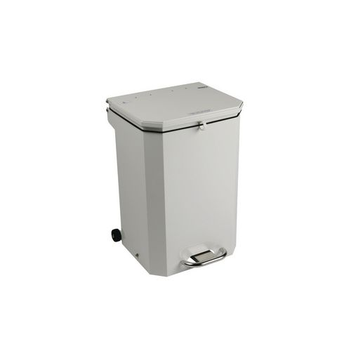 20L Flame Retadant Waste Bin With White Lid General Use