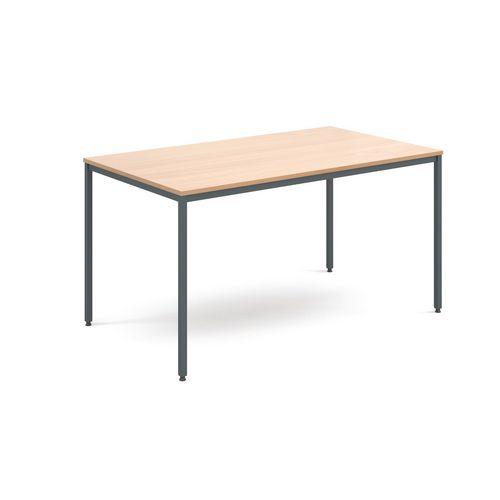 1400x800mm Rectangular Genreral Purpose Table Beech