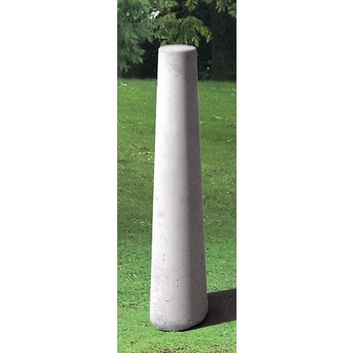 Bedford Concrete Bollard Bgf Plain Grey Finish