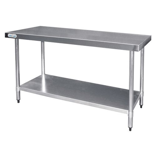 Stainless Steel Top Preparation Table HxWxL mm: 900x600x1800