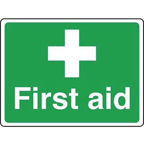 Sign First Aid 200 X 150 Vinyl