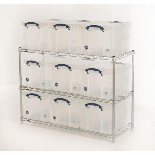 Ll1 Low Level Archive Unit (Clear Boxes)