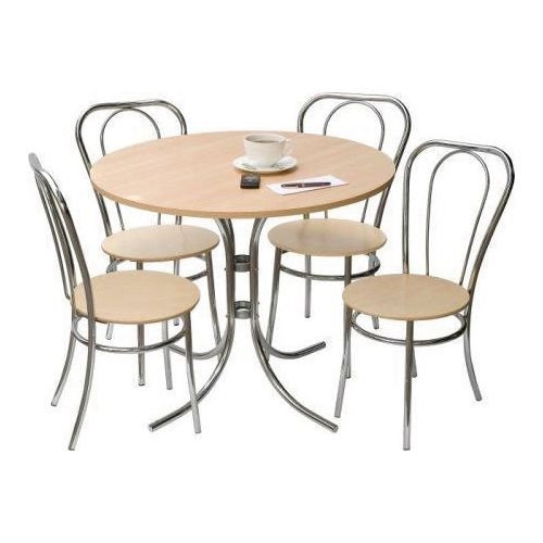 Bistro Set Deluxe 4 Chairs And 1 Table