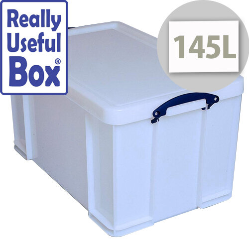 Really Useful Box 145 Litre Extra Strong With Lid